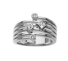 0.50 ct Ladies Round and Princess Cut Diamond Anniversary Ring