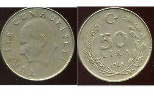 TURQUIE  50 lira  1985