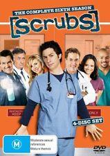 Scrubs : Season 6 (DVD, 2007, 4-Disc Set)