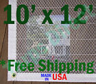 10' x 12' Clear Poly Tarp Room Divider Patio Porch Enclosure Fumigation Curtain