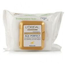 L'OREAL AGE PERFECT CLEANSING WIPES FOR MATURE SKIN - 25 WIPES