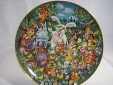 "Franklin Mint Collectors Plate ""A Doggone Egg - Stravaganza"" by Bill Bell"