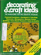 Decorating & Craft Ideas Made Easy Magazine Sept 1977 ~ Multi-Crafts Hip Mod