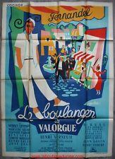 LE BOULANGER DE VALORGUE Affiche Cinéma Movie Poster FERNANDEL 160x120