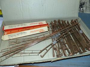 RIVAROSSI - Enorme lotto di catenaria anni 60 -Tutta buona/ottima -150 pezzi -