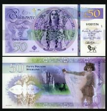 Britain, 50 Pounds, Private Issue Polymer, 2020 - Queen Guinevere