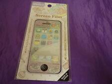 VINTAGE SANRIO JAPAN LITTLE TWIN STARS SCREEN PROTECTOR FILM GLITTER IPHONE 4