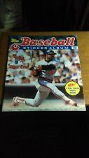 Unused 1983 Topps Baseball Sticker Album (Reggie Jackson) EX-MT