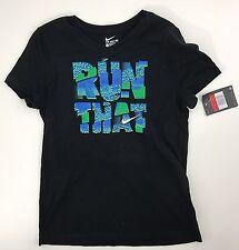 9c3979cc Nike Run That Black T-shirt Size L 739975-010