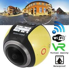 WiFi HD 16MP 360°Panoramic 3D VR Sport DV Action CAM Camera Video Camcorder A8I5