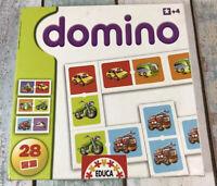 Domino -  Educa, Vehicles Dominoes, Family Fun, Educational