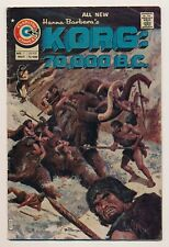 Korg 70,000 BC (1975) #1-9 VG+ to VF+ Complete series