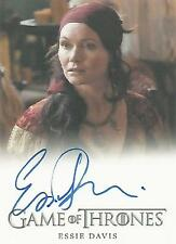 "Game of Thrones Season 6 - Essie Davis ""Lady Crane"" Autograph Card"