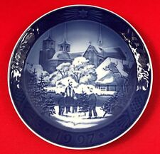 Vintge Royal Copenhagen Christmas Plate, 1997, Roskilde Cathedral, Free Shipping