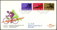 Netherlands 1972, Olympic Games FDC First Day Cover #C27499