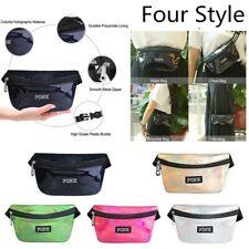 Women's Fanny Pack Shiny Belt Waist Bag Leather Pouch Waist Phone Pocket NEW