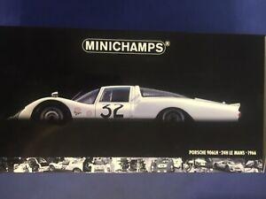 Minichamps Porsche 906 LH Le Mans #32 1966 Schütz Klerk 1:18 Neu