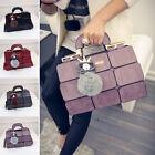 Women pu Leather Handbag Purse Messenger Shoulder Crossbody Bag Tote Satchel