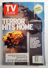 TV Guide - Terror Hits Home - 9/11 Edition - 2001