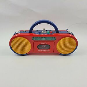 My First Sony CFS-2050 AM/FM Cassette Boom Box Radio - Free Shipping