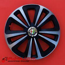 "4 COPRICERCHI BORCHIE 15"" ALFA ROMEO 156 SPIDER 147 155 GTV TERRAMIX"