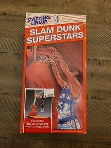 1989 STARTING LINEUP - SLU - NBA - MAGIC JOHNSON - LAKERS - SLAM DUNK - RED