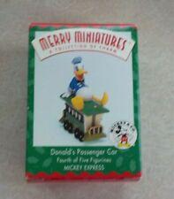 Hallmark Donald Passnger Car Merry Miniatures Disney Train 1998