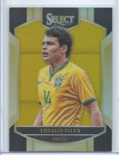2016-17 PANINI SELECT GOLD PRIZM PARALLEL TERRACE THIAGO SILVA /10 BRAZIL