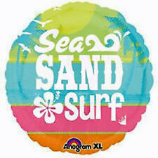 SAND, SEA, SURF Luau Ocean Pool Tropical Birthday Party Balloon