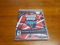 Guitar Hero: Van Halen (Sony PlayStation 3, 2009) PS3 BRAND NEW SEALED