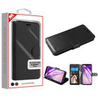 Google Pixel 4 /XL Phone Leather Flip Wallet Protective Case Cover Stand Black