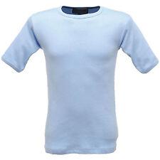 Mens Regatta Winter Warm Brushed Thermal Short Sleeve Underwear Vest Top