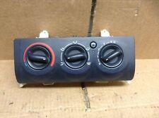 RENAULT CLIO MK2 (01-06) HEATER CONTROL SWITCH PANEL, 8200147157