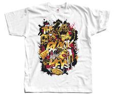 The Black Keys V3, band poster, T-SHIRT DTG (WHITE ZINK) S-5XL