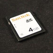 SanDisk 4 GB SDHC Class 4 Flash Memory Card