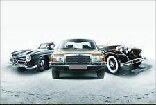 Blechschild 20 x 30 cm, Mercedes, Nostalgie