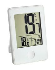 Temperatur Station Anzeiger Temperaturstation LCD digital Thermometer weiß TFA