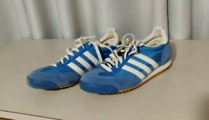 Women's Dragon Adidas Shoes - Blue - Size 9.5 - Vintage