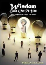 Wisdom Calls Out To You - Norman Sabadi - paperback