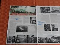 Rarität /DDR 1960 Wanderkarte Sächsische Schweiz + Fotos + Natur /MdI Kulturbund
