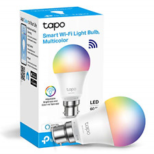 TP-LINK Tapo Smart Bulb, Smart Wi-Fi LED Light, B22, 8.7W, Works with Amazon and