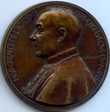 FRANCE GEORGES GRENTE CARDINAL ET ÉVÊQUE DU MANS MEDAILLE 1918 - 1943