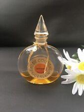 Vintage Guerlain Shalimar Perfume Bottle- 1960s Cologne-Paris France