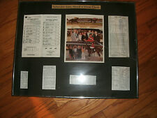 Framed Hawthorne Race Track Miss Mommy Handicap NEED A DIME WINNER Oct. 26, 1977