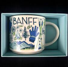 "Starbucks Banff ""Been There"" Series 2018 Collection Coffee Mug 14 fl oz NEW"