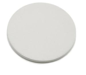 50x Hochwertige Pokerchips Keramik 9,5g 39mm Rohling unbedruckt Weiß Poker Chips