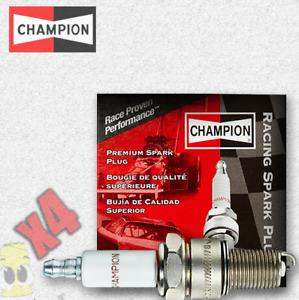 Champion (1006) RA59GC Racing Series Spark Plug - Set of 4