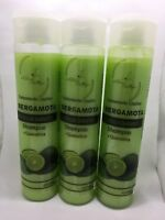 3x Shampoo BERGAMOTA & Keratin Bergamot Stop Hair Loss Stimulate Growth 16.23 oz