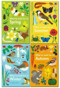 Ladybird Books – What to look for in Spring, Summer, Autumn, Winter - Near Fine