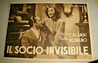 film IL SOCIO INVISIBILE - SCALERA FILM - FG NV anni '30